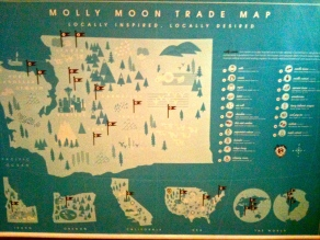 Molly Moon's Ice Cream Trade Map Local