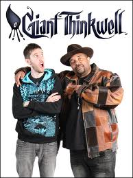 Sir Mix-a-Lot with Giant Thinkwell
