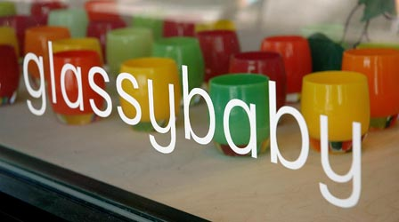 Brandcrush glassybaby shines secret sauce creative for Glassybaby